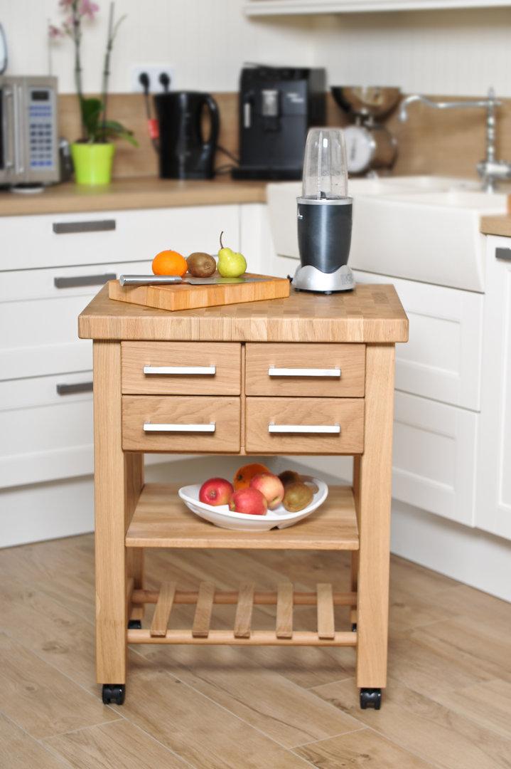 Küchenwagen Mobil 5 Eiche